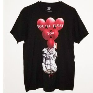 IT | Pennywise You'll Float Too Tee  Horror